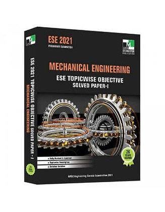 ESE 2021: Preliminary Exam: Mechanical Engg. Obj Vol-1 - IES Master