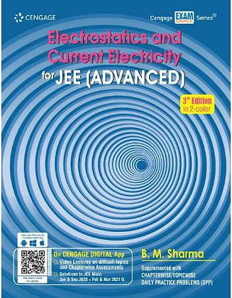 Electrostatics and Current Electricity for JEE (Advanced) - Cengage