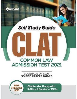 Self Study Guide CLAT 2021 - Arihant