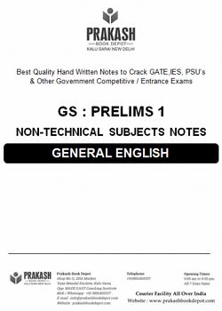 General English Notes