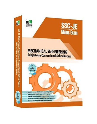 SSC-JE Mains Mechanical Engineering Conventional Solved Papers - IES Master