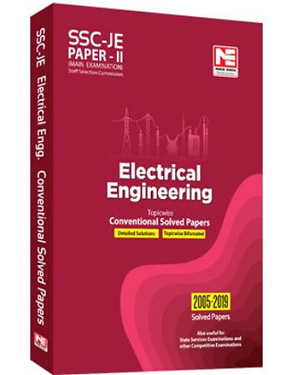 SSC: JE EE Engg. - Prev. Yr Conv. Solved Papers II (Made Easy)