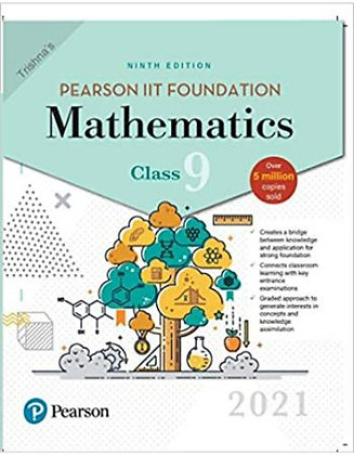 Pearson IIT Foundation Mathematics Class 92021 Edition