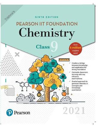 Pearson IIT Foundation Chemistry Class 92021 Edition