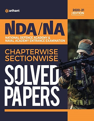 NDA / NA Solved Paper Chapterwise & Sectionwise 2020 - Arihant