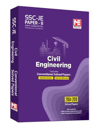SSC: JE CE Engg. - Prev. Yr Conv. Solved Papers II (Made Easy)
