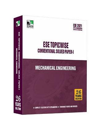 ESE 2021 Mains Examination Mechanical Engg Conv Paper I - IES Master