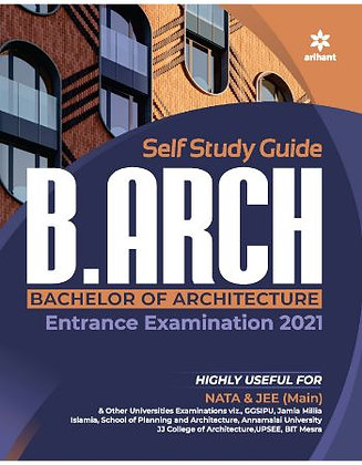 Study Guide for B.Arch 2021 - Arihant