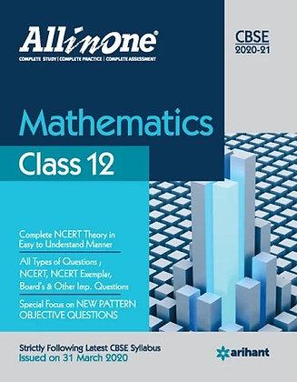 Cbse All in One Mathematics Class 12 for 2021 - Arihant