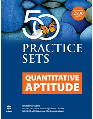 50 Practice Sets Quantitative Aptitude - Arihant