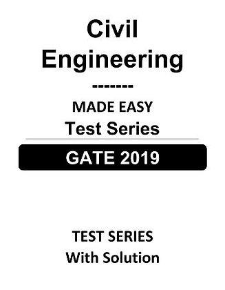Civil Engineering GATE Test Series 2019 - Made Easy