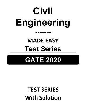 Civil Engineering GATE Test Series 2020 - Made Easy