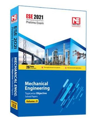 ESE 2021: Preliminary Exam: Mechanical Engg. Vol-2 - Made Easy