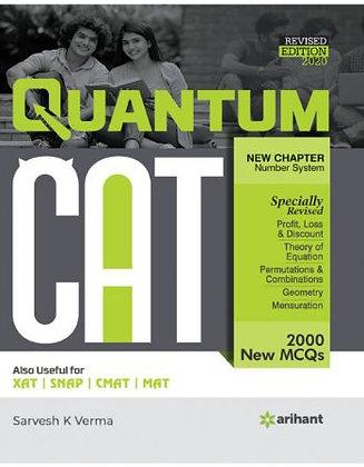 Quantitative Aptitude Quantum Cat 2020 - Arihant