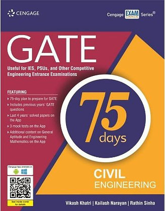 Gate in 75 Days Civil Engineering - Cengage