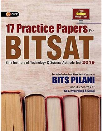17 Practice Paper For Bitsat 2019 - Disha