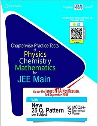 Chapterwise Practice Tests of PCM for JEE Main - Cengage