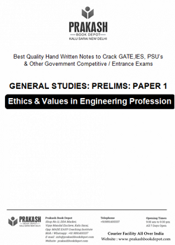 Ethics & Values in Engineering Profession Notes