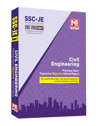 SSC-JE 2020: Civil Engg Obj. Solved Papers (Made Easy)