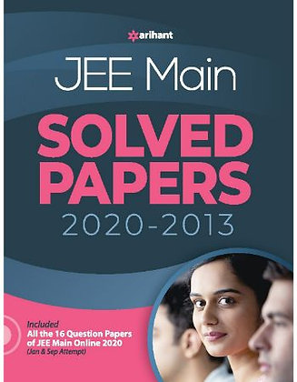16 Years' Solved Papers JEE Main 2021 - Arihant