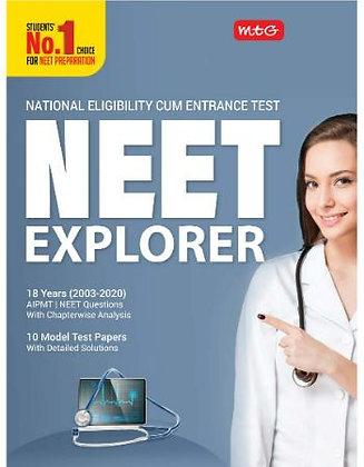Neet Explorer 18 Years 2003-2020 - MTG