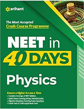 40 Days Crash Course for NEET Physics - Arihant