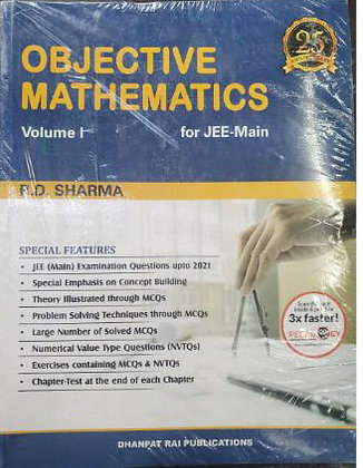 Objective Mathematics for JEE (Main & Adv) and Other Engg. Ent. Exams -RD Sharma