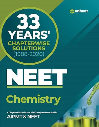33 Year's Chapterwise AIPMT & NEET Chemistry 2021 - Arihant