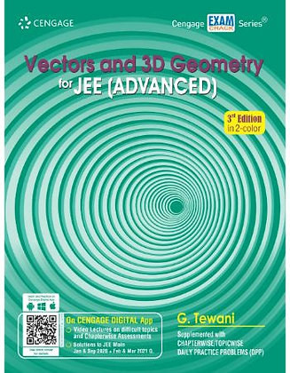 Vectors & 3D Geometry for JEE (Advanced)- Cengage