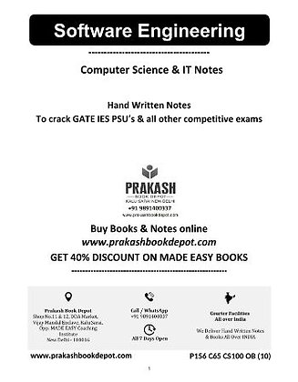 Computer Science Notes: Web - Technology & Software Engineering
