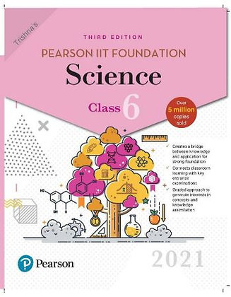 Pearson IIT Foundation Science Class 62021 Edition