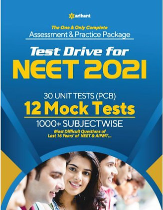 NEET 12 Practice-Mock Sets 2021 - Arihant