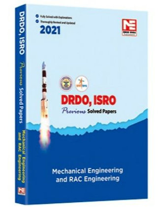 DRDO, ISRO 2021: Mechanical Engg. Prev Sol Papers (Made Easy)