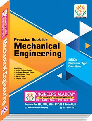 Mechanical Engineering 4500 + MCQs Practice Book - Engineers Academy