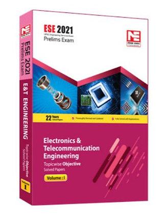 ESE 2021: Preliminary Exam: Electronics & Comm. Engg Obj Vol-1 - Made Easy