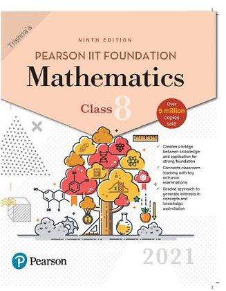 Pearson IIT Foundation Mathematics Class 82021 Edition