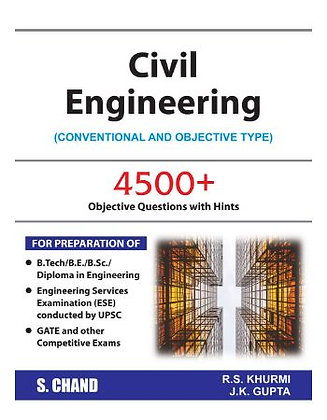 Civil Engineering: Conventional and Objective - RS Khurmi