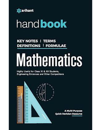 Handbook of Mathematics - Arihant