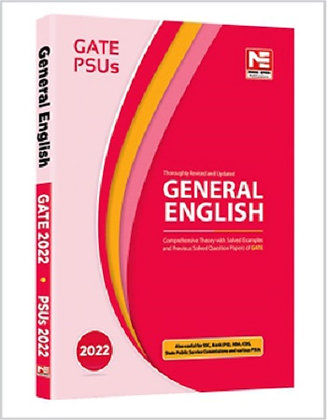 General English for GATE and PSUs: 2022 - Made Easy