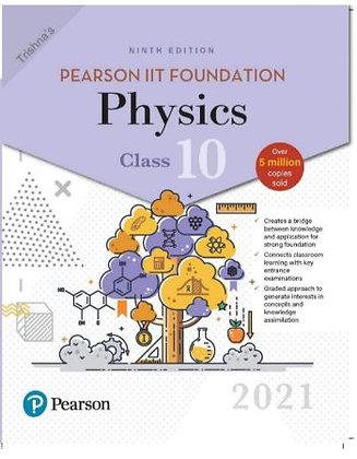 Pearson IIT Foundation Physics Class 102021 Edition