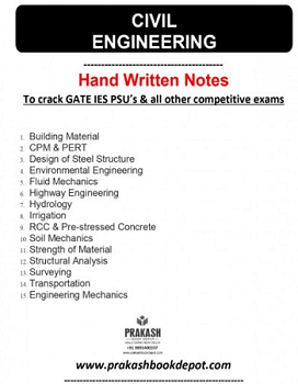 Civil Engineering Notes: Full Package (17 Booklets)