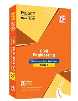 ESE 2021 Mains Examination Civil Engg Conv Paper II - Made Easy