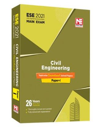 ESE 2021 Mains Examination Civil Engg Conv Paper I - Made Easy