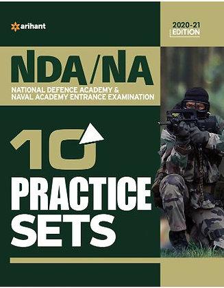 10 Practice Sets NDA/NA Defence Academy & Naval Academy 2020 - Arihant