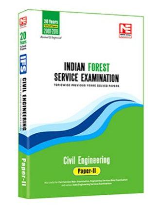 IFS Mains -2020: Civil Engg. Prev Yr Solved Paper Vol-2 - Made Easy
