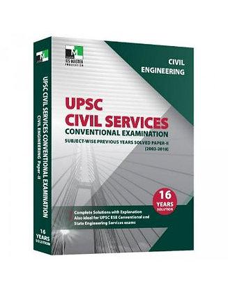 Civil Engineering - UPSC Civil Services Conv. Exam Paper 2 - IES Master