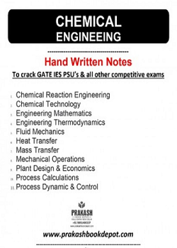 Chemical Engineering Notes: Full Package (11 Booklets)