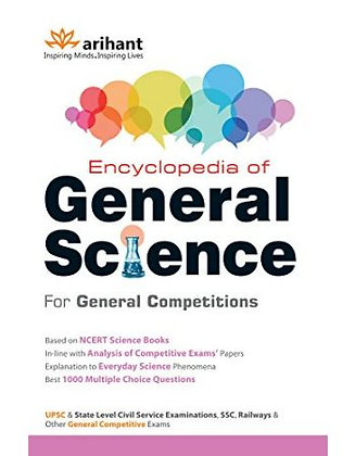 Encyclopedia of General Science for General Competitions - Arihant