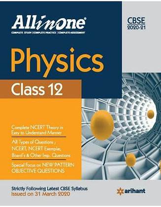 Cbse All in One Physics Class 12 for 2021 - Arihant