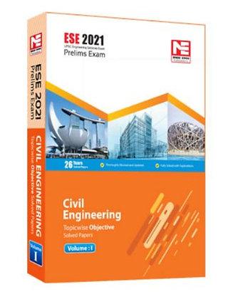 ESE 2021: Preliminary Exam: Civil Engg. Obj Vol-1 - Made Easy